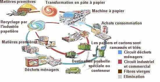 Que Fait On Du Papier Recyclé